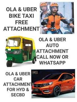 UBER & OLA BIKE CAR & AUTO ATTACHMENT FREE DONE HERE