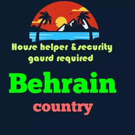 Dumestic helper required in behrain country