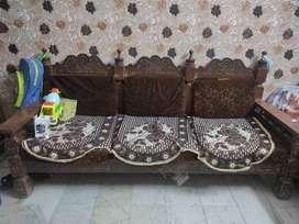 Sofa set 3-1-1 with table