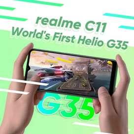 REALME C11 RAM 2+32, GARANSI RESMI, PROCESSOR KHUSUS GAMING LHO KAK