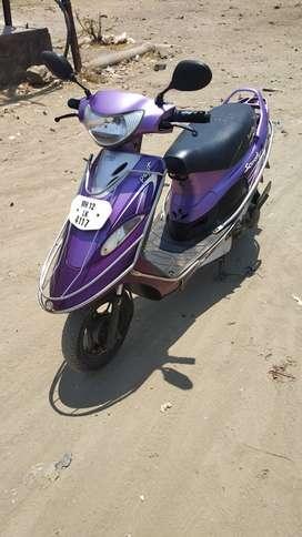 Good Condition TVS Scooty PepPlus with Warranty |  4117 Pune
