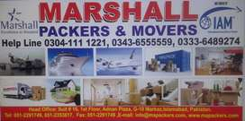 Marshall International Packers Movers house shifting cargo shipping