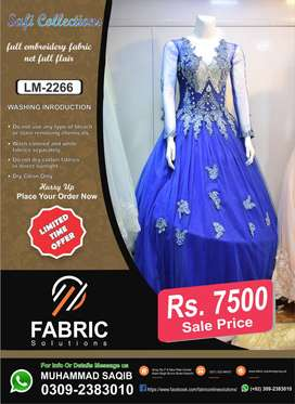 Latest Maxi With Fabric Net