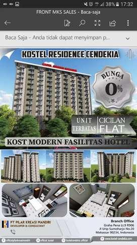 Kos Hotel Khusus Tower Wanita dan Khusus Twr Pria di  Univ.Hasanuddin
