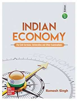 Indian economy by ramesh singh for upsc