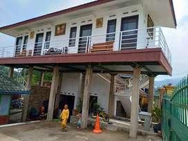 Dijual murah rumah kost bengkel dan pemancingan aktif di jatinangor