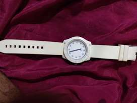 Fast-track watch (white)