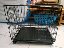 Kandang binatang kucing atau anjing