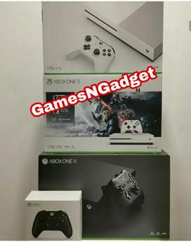 Xbox one consoles with warranty games and controller all options avail
