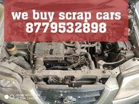 We buy junk scrap cars