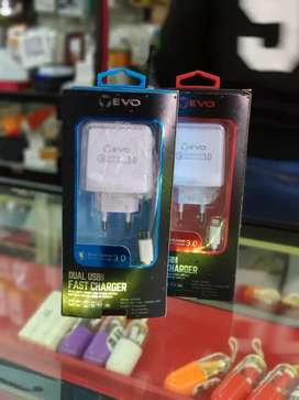 Charger iPhone Samsung fast real premium 3usb