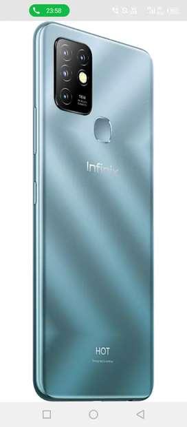 Infinix hot 10 good condition..5000mah battery