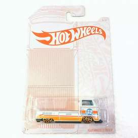 Hot wheels Hotwheels Volkswagen T2 Pickup Pearl and Chrome Series