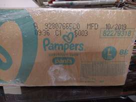Pampers Premium Care L size diaper, 88 Pcs for 1350/-