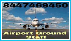 Hiring candidate in airport ground staff