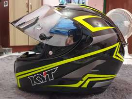 Helm kyt falcon 2 yellow carbon