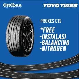 Ban Import Toyo Tires Proxes C1S ukuran 195-65 R15 buat Chevrolet Spin