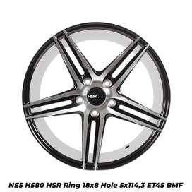 Velg baru Hsr NE5 580 R18X8 H5X114,3 ET45 BMF