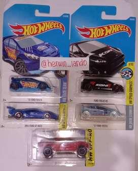 Sale Kolpri Hotwheels Ford