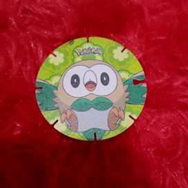 Tazoz Pokemon Koin Rowlet