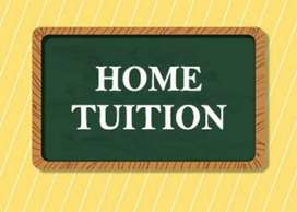 Home tuition for class 1 to 8. For CBSE students.