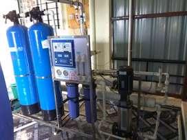 1000 liter filter machine, 3 ton chiller machine, 100 jar