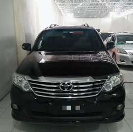 GN FORTUNER G LUX MATIC 4X2 2013 HITAM
