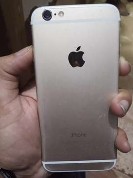 IPhone 6 16 gb with box and backcover with charger