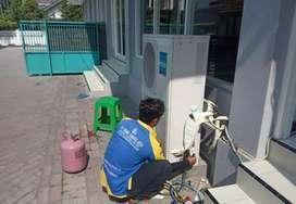 Service ac,kulkas,tv,pompa air,mesin cuci,bongkar pasang ac,dll