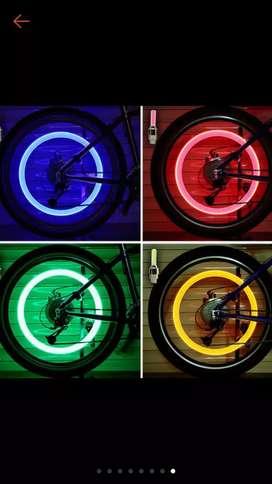 Tutup Pentil Roda Lampu LED Sensor Gerak