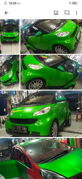 Wrapping car,variasi,cutting sticker