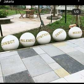 Bola bola Taman Harjamukti Mewah I Terrazzo