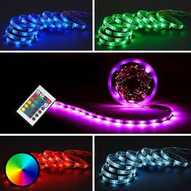 RGB LED SMD strip rope string light module gaming zone interior