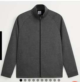 Zara'S Men Gray & Black Jacket