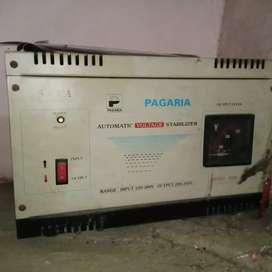 Pagaria 5kva stabilizer brand New condition