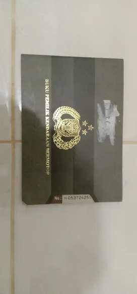 Bpkb satria fu 2007