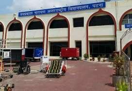 urgent hiring in Patna Airport