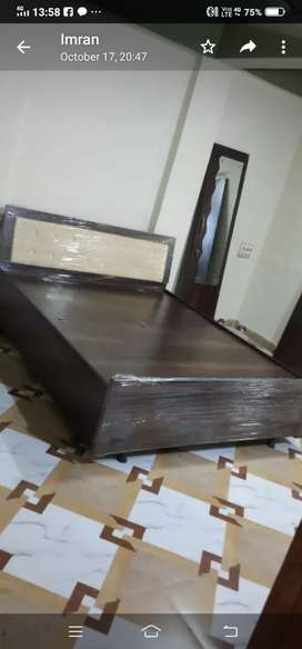 Royal queen size bed
