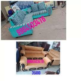 Brand new corner sofa set 24k