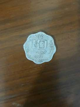 10 Indian Paise