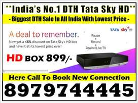 IPL Sale Sale New Tata Sky HD Box Free Fire Stick &1 month free airte