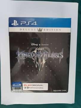 Kingdom Heart III DELUXE EDITION untuk PS4