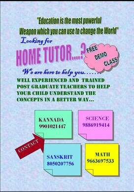 Home Tuitions/Online classes