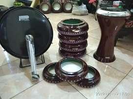 produksi langsung alat musik hadroh