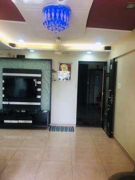 2bhk furnished flat on rent at Gawand baug at upvan lake
