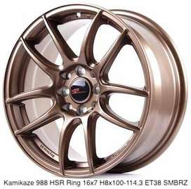 Velg Racing Murah KAMIKAZE 11033 HSR Ring 16 ( YANKEE PADANG ) )