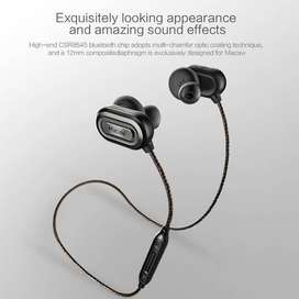 HiFi Macaw T1000 APTX Audio Wireless HiFi Bluetooth Sports Earphone