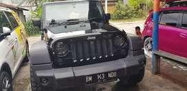 Jeep Rubicon 3.8 2011 4 pintu paling mantap