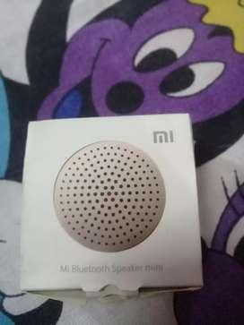 Mi bluetooth speaker new