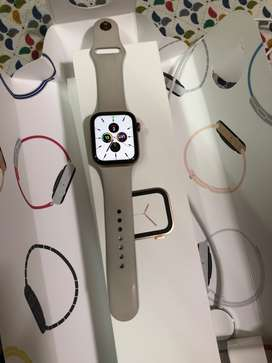 Apple Watch series 4 stainless steel gold 44mm GPS with sport band